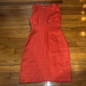 Adam lippes women's orange dress